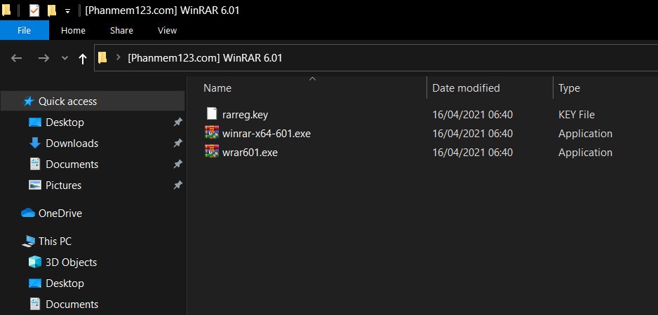 Download WinRAR 6.01 + Key bản quyền 2021