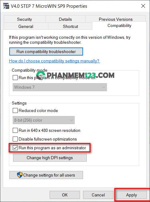 Download STEP 7 MicroWIN v4.0 cho Windows 10 mới nhất